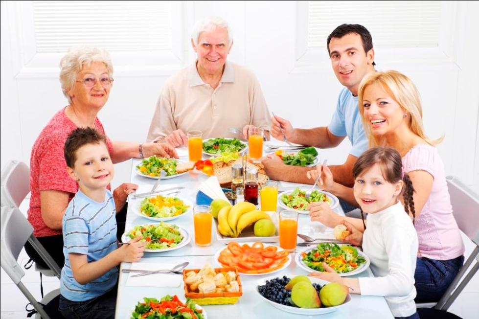 Las Colaciones saludables para niños
