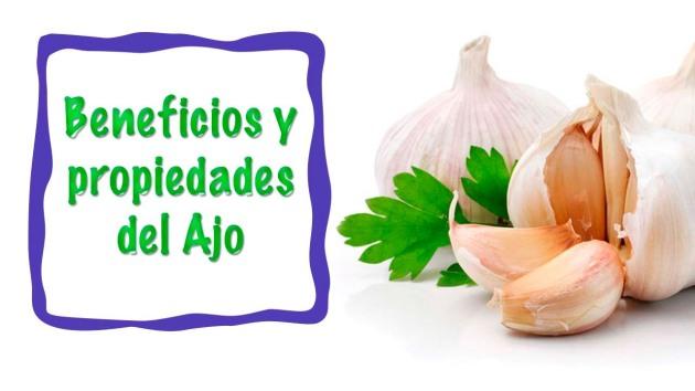 Las bondades y propiedades del ajo