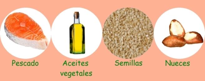 Los omega 3 y 6 no pueden ser producidos por el cuerpo, y deben obtenerse a través de alimentos o suplementos vitamínicos